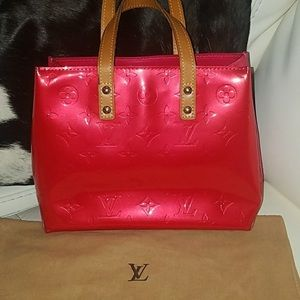 AUTHENTIC  red and pink Louis vuitton vermis PM